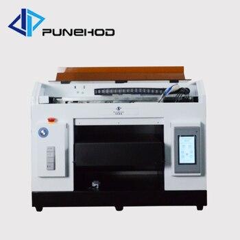Full-automatic small uv flatbed printer printing machine uv inkjet printer for business
