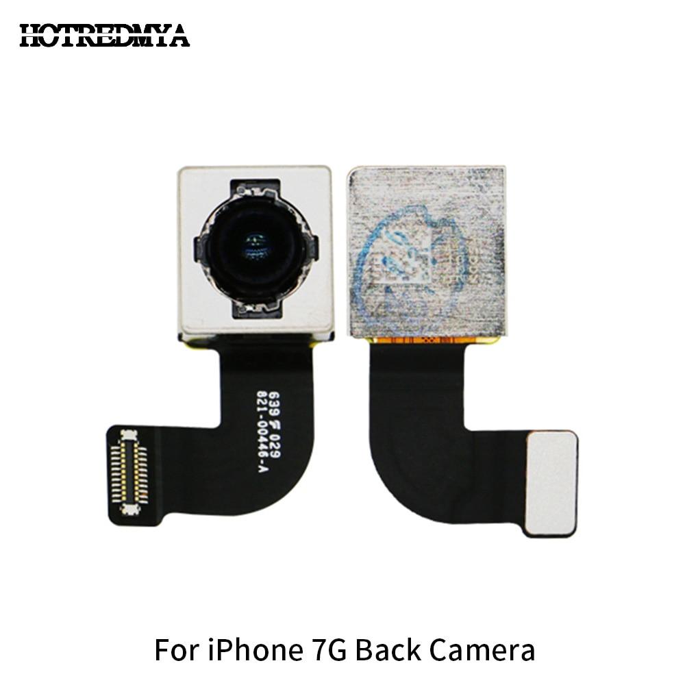 100% Original Voltar Camera Para iPhone 7 7G Big Câmera Traseira Lente Com o Flash Módulo Fita Cabo Flexível Do Sensor peças de reposição