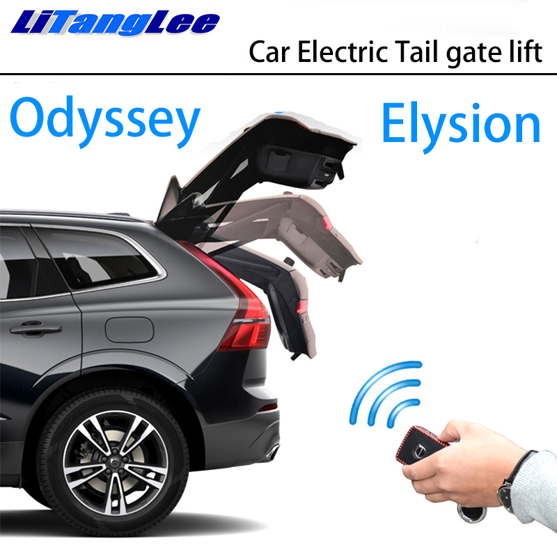 LiTangLee Car Electric Tail Gate Lift Trunk Rear Door Assist System For Honda Elysion Odyssey J RC1 RC2 2013~2019 Remote Control