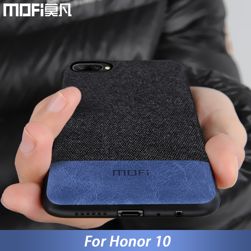 for Huawei honor 10 case cover for honor 10 lite back cover fabric shockproof silicone case coque MOFi original honor10 case