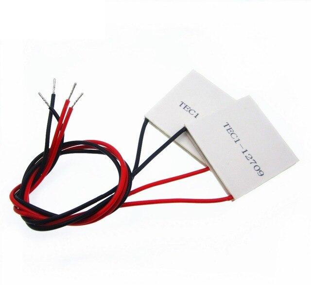 10 adet/grup TEC1 12709 12 v 9A TEC Termoelektrik Soğutucu Peltier 12709
