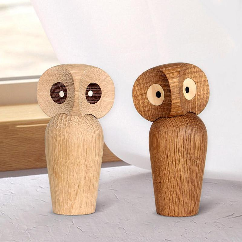 Aliexpress Com Buy Home Utility Gift Birthday Gift Girlfriend Gifts Diy From Reliable Gift Diy: Aliexpress.com : Buy Nordic Style Wooden Owl Shaped Wooden