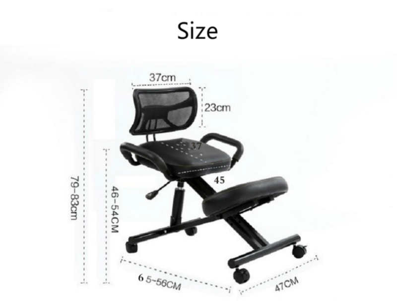 Купить с кэшбэком Sitting Posture Stool Kids Study Chair Healthy Computer Chair Multifunction Office Seat with Armrest Safety Household