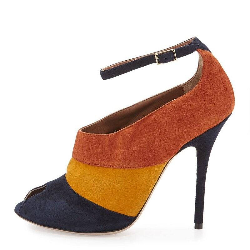 2019 automne hiver nouveau Style avec bottes floquées bottes à talons fins pour les femmes montrent des bottines minces noir grande taille TL-A0150