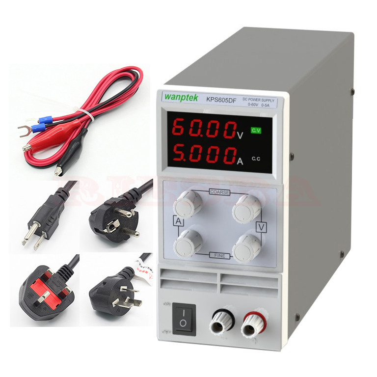 wholesale KPS605DF 30V 5A Switch power supply 0.1V 0.001A Digital Display adjustable Mini DC Power Supply cps 6011 60v 11a digital adjustable dc power supply laboratory power supply cps6011