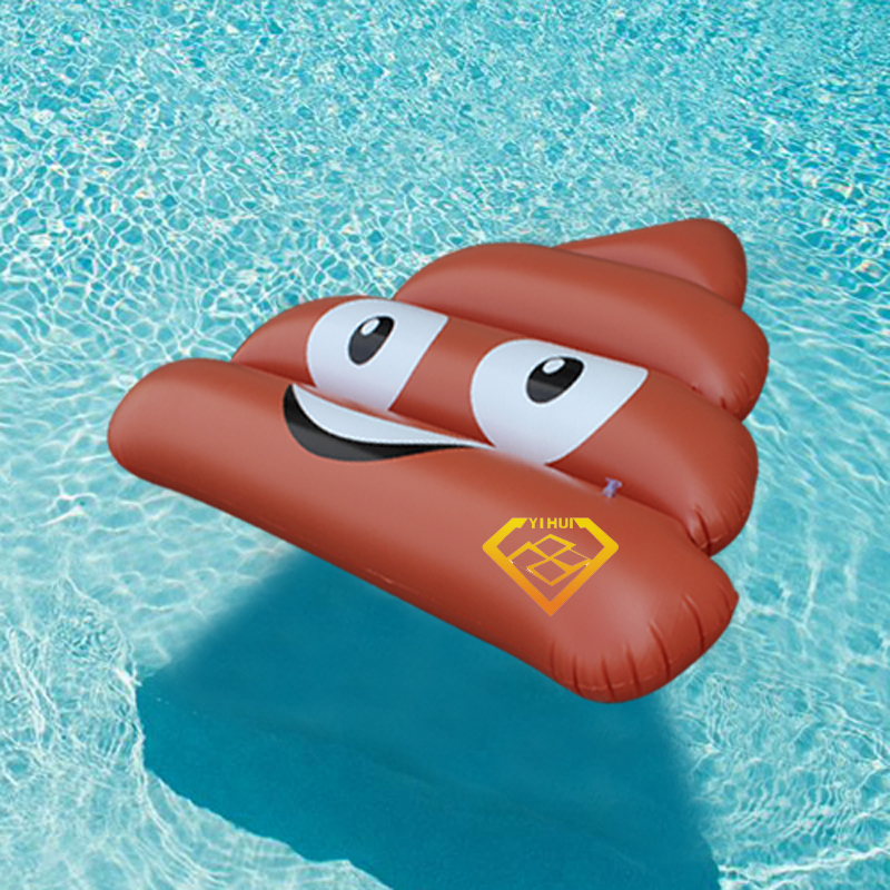 120 140cm stool slice inflatable pool float 2017 new for Swimming pool 120 cm tief