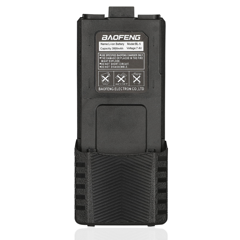 Baofeng High Capacity Walkie Talkie Battery 3800mAh For Two-way Radio UV-5R UV-5RE UV5RE Battery Box Baofeng Accessories ES UK
