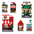 Mini Toy Blocks Base Building Blocks DIY Brain Game Educational Toys For Children Gift