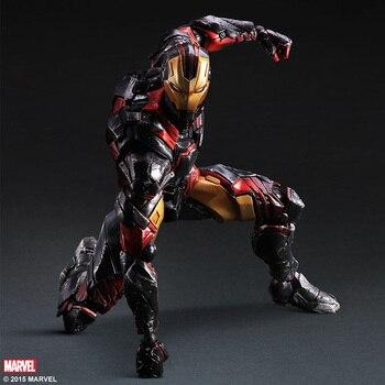 Variant Play Arts Kai  Iron Man PVC Action Figure Collectible Model Toy 35cm