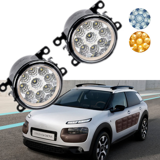 For Citroen C4 Cactus 2014 2015 2016 9 Pieces Leds Chips Yellow