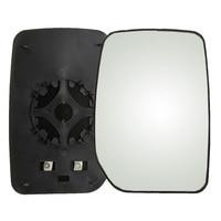 Carro-estilo aquecido asa lateral espelho de vidro esquerda espelho retrovisor aquecido para ford transit 2000-2013