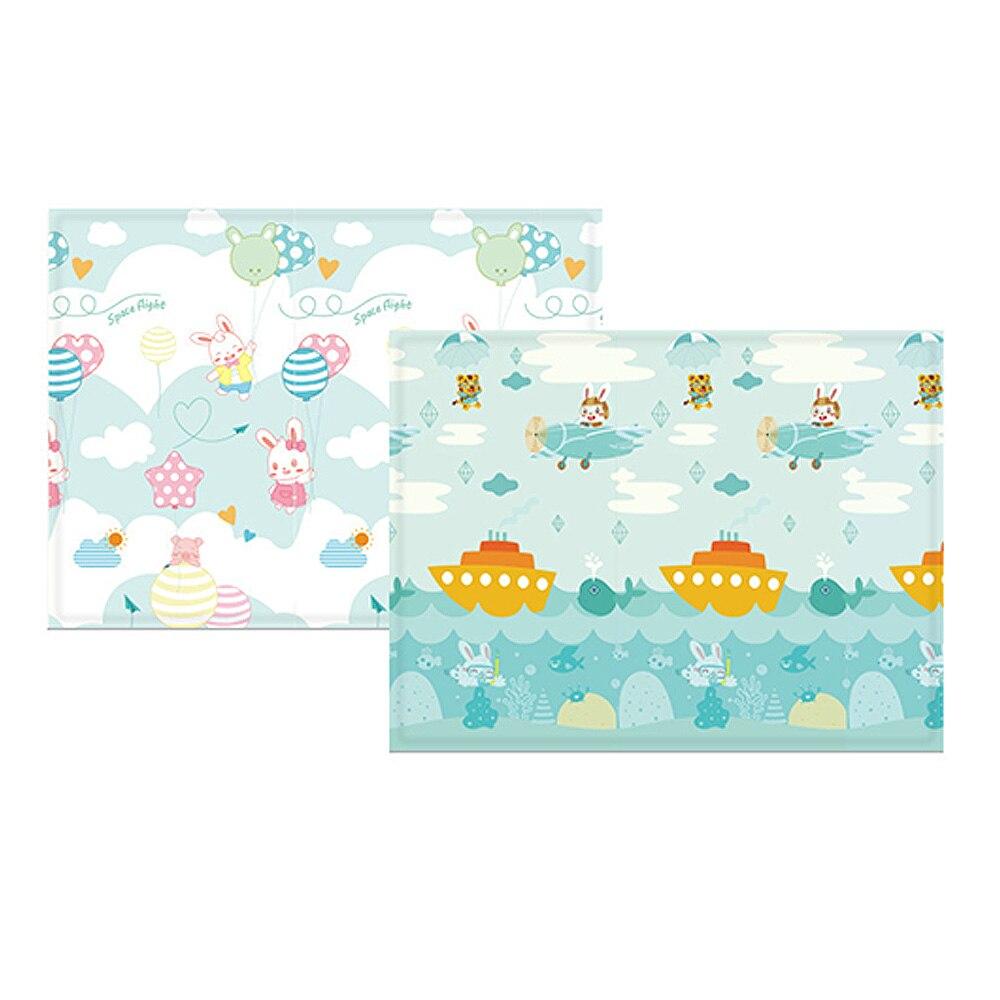 Pour enfants jeu Pad bébé ramper Pad pliant bébé jouer tapis Puzzle tapis épaissi bébé chambre Carpe développement tapis 197*148*1 cm