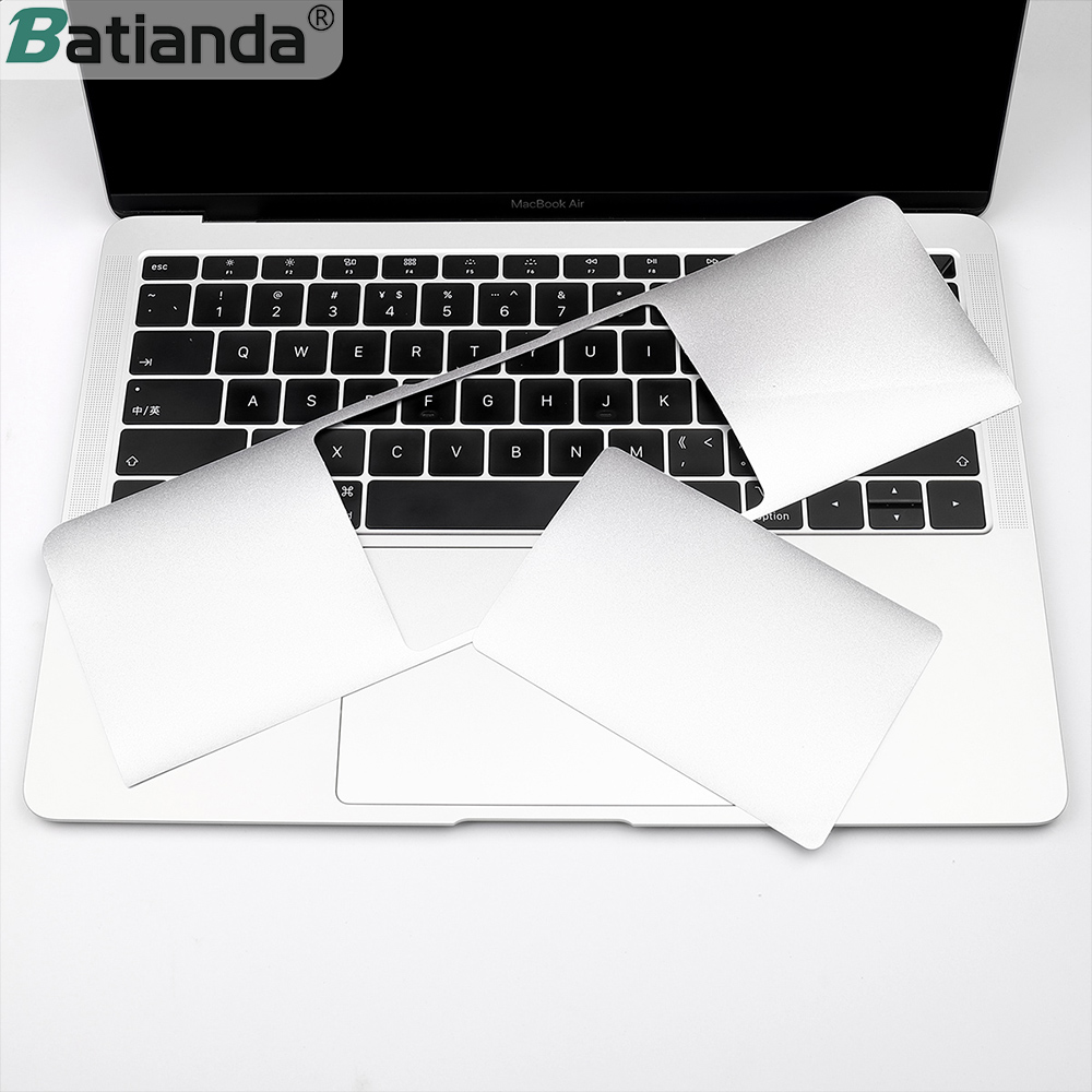 MacBook Air 13 Palm Rest Cover,Palm Rest Cover with Trackpad Protector Sticker Skin for MacBook Air 13.3 Silver A1466 A1369