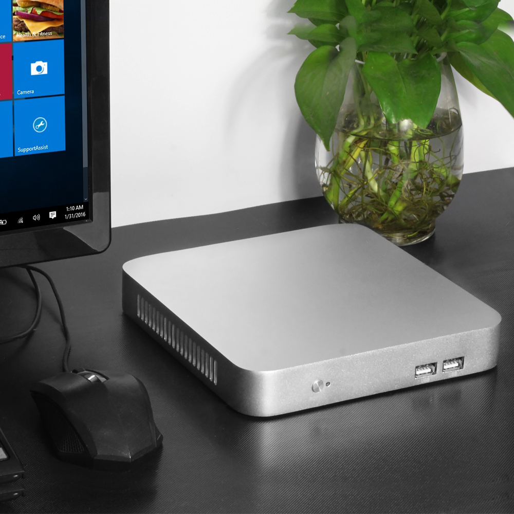 Image 2 - Mini PC 7th Gen Core i7 7500U i5 7200U i3 7100U Windows 10 4K Computer HD Graphics 620 HDMI WIFI USB3.0 Desktop gaming pc-in Mini PC from Computer & Office