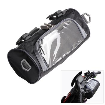 Motocykl szyby torba elektryczna Auto przednia kierownica widelec pojemnik B tanie i dobre opinie Bagaż rolkach SKU000012 9 84inch 4 72inch 3 35inch 0 28kg Car Covers