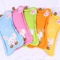 2016Baby naughty rabbit cartoon baby buckwheat pillow type anti migraine autumn candy color health care pillow pillow