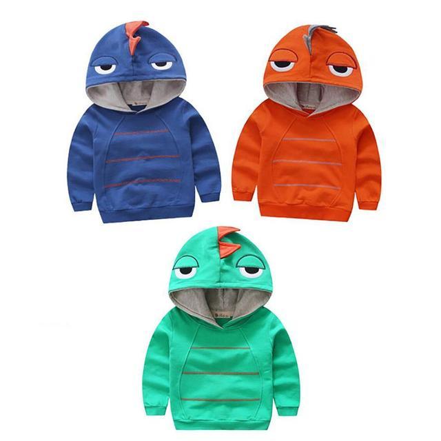 Menino e Meninas Roupas de inverno quente outerwear Bebê Fleece Criança Com um Outerwear Camisola Camisolas de Algodão Crianças D3