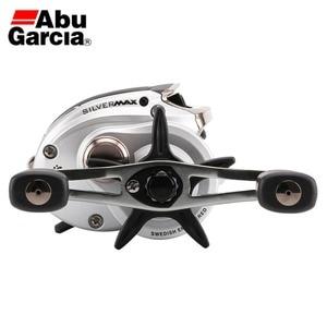 Image 3 - NEW Abu Garcia Brand SILVER MAX3 SMAX3 Left Right Hand BaitCasting Fishing Reel 5+1BB 6.4:1 209g Bait Casting Reel