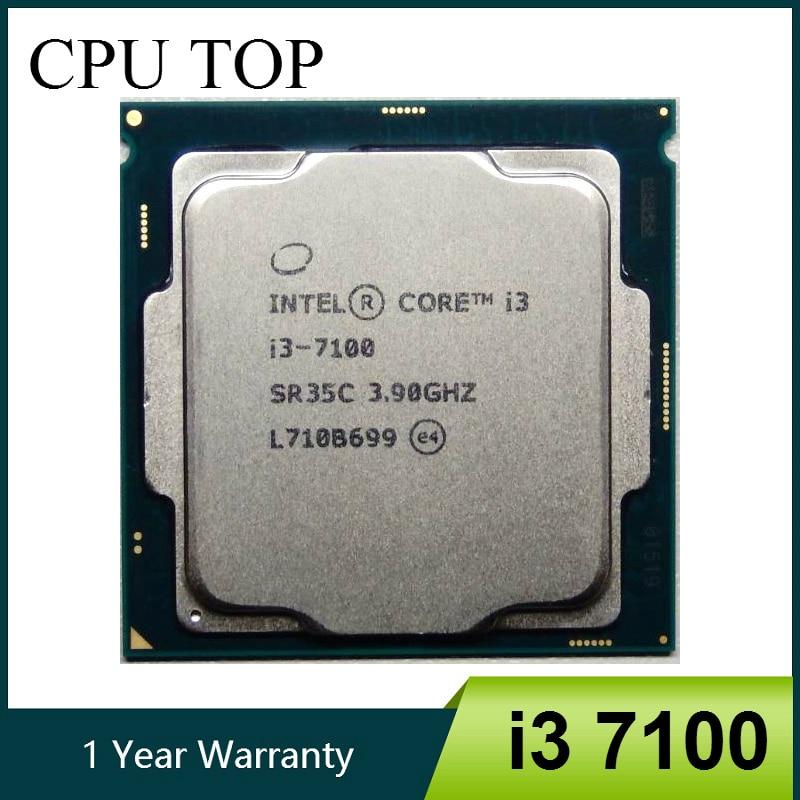 Intel Core i3 7100 Processor i3 7100 3 90GHz 3M Dual Core Socket 1151 desktop CPU