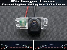 1080P Fisheye Lens Trajectory Tracks Car  Rear view Camera for Ford Mondeo Focus Hatchback Fiesta S-Max 2007 2008 2010 2011