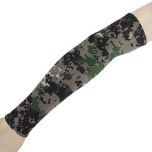 Hot Sale Camouflage Cooling Arm Sleeves Sun UV Protection Cover Golf Cycling Bike Sports Over-sleeves Warmers