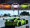 Lepin 20001 técnica 1:8 gt cars 911 gt3 rs kits de edificio modelo minis bloques ladrillos compatible con 42056 niños regalos
