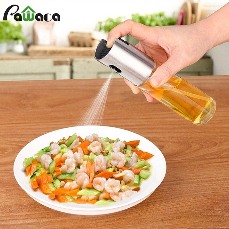 Olive Oil Sprayer Glass Oil Spray Bottle Sauce Vinegar Bottle Oil Dispenser for BBQ, Salad,Cooking,Baking,Roasting, Frying Tools