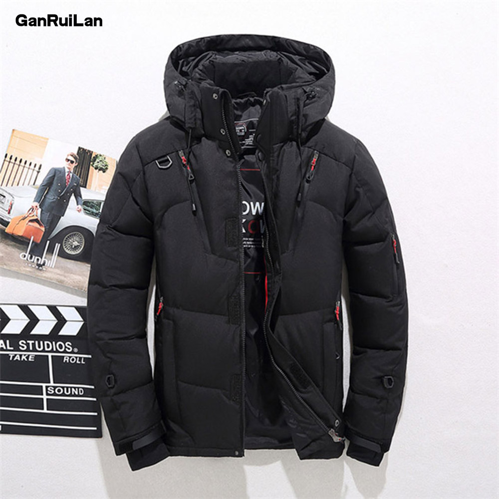 Мужские куртки, зимняя повседневная верхняя одежда, ветровка, Jaqueta Masculino, приталенная, с капюшоном, модные пальто, Homme, плюс 4XL, Размер 4XL - 3