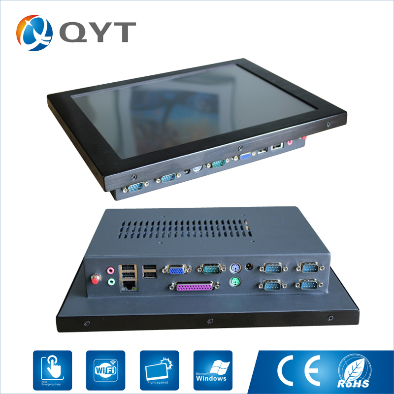 11.6 inch Industrial Panel aio Tablet PC with Intel Celeron J1900 2.0GHz Resolution 800*600 LPT 5*RS232 4*USB RJ45 WIFI