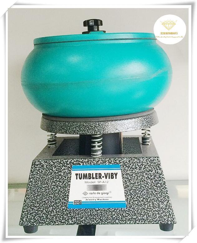 Promotion 12L Bijoux Machine Vibrant Tumbler, vibrant rock tumbler, machine à polir Vibrations