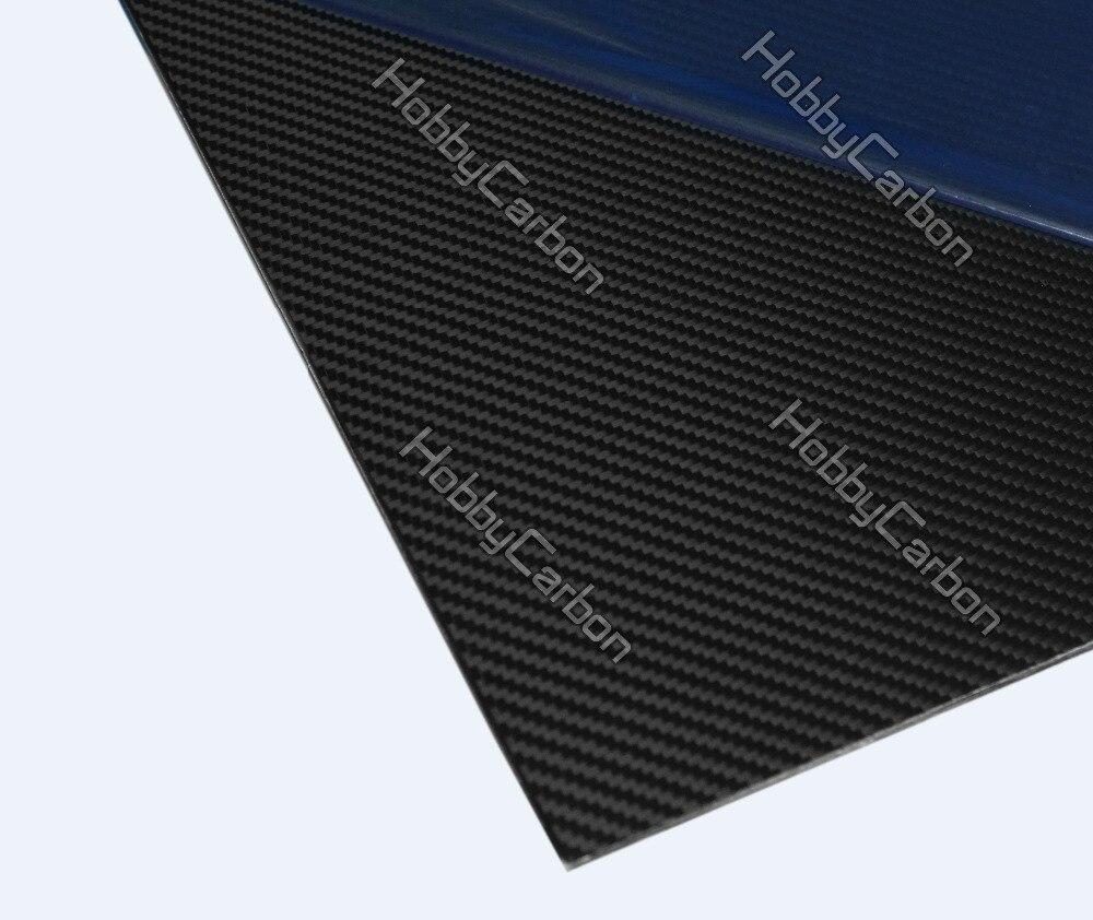 4.0X400X500mm Matte Surface 3K 100% Carbon Fiber Plate Sheet 2pcs tator rc 3k carbon fiber plate 3 5mm tl2900
