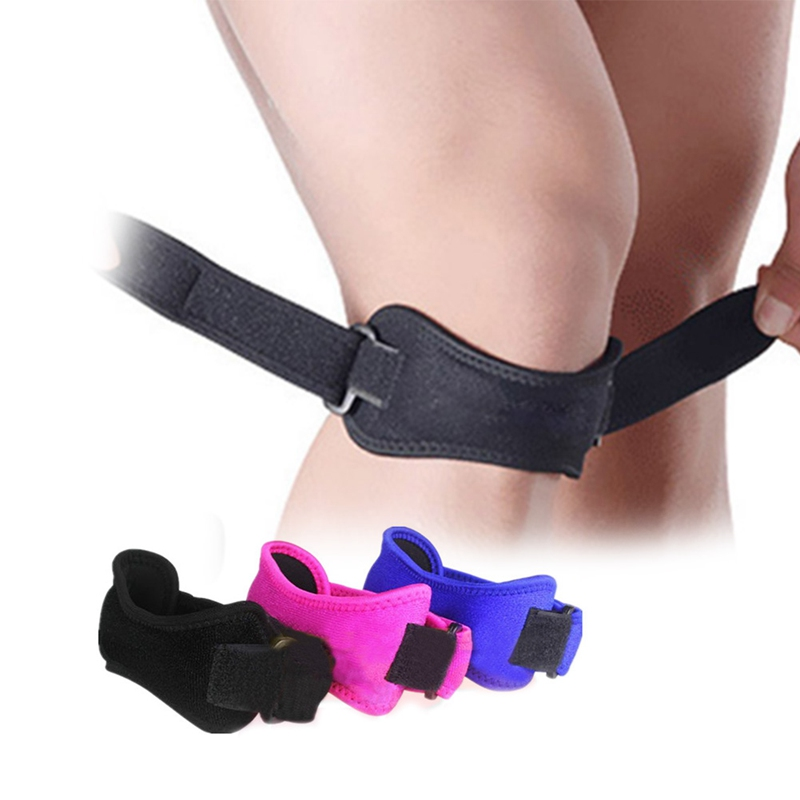 1 Pcs Adjustable Patella Support Knee Support Patella Brace Bandage Tendon Strap Belt Jumper Knee Pads