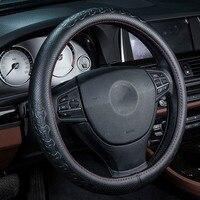Wołowej Kierownicy Pokrywa Ochronna Dla EX25 Infiniti FX35 G25 G2 JX35 M25L QX50L M25 QX56 Q70L wnętrza Samochodu akcesoria