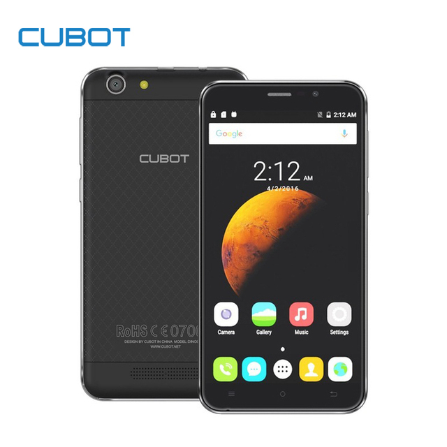 Динозавр 5.5 Дюймов MTK6735A Четырехъядерный Смартфон Cubot 3 ГБ RAM 16 ГБ ROM Сотовый Телефон Разблокирован 4150 мАч Android 6.0 Мобильный Телефон