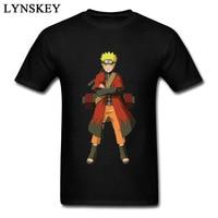 Design Your Own Naruto Black T Shirt Man Custom Gift Tee Shirt Short Sleeve O Neck