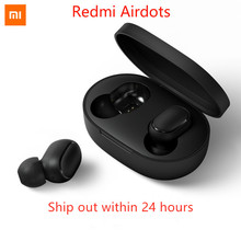[In stock]2019 Newest Xiaomi Redmi Airdots TWS Bluetooth Earphone Stereo bass BT 5.0 Eeadphones With