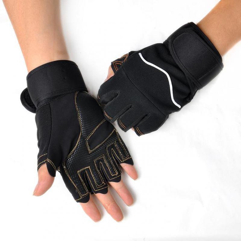 Fitness Gloves New Zealand: Men Fitness Gloves Anti Slip Exercise Gloves Bodybuilding