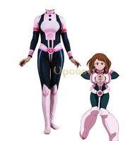 Uraraka Ochako Costume Anime Boku No Hero Academia OCHACO Cosplay Combats Suit Zentai