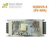 شاشة فيديو LED طاقة كهربائية 5 فولت 40A لشاشة led كبيرة سهلة الاستخدام