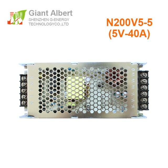 LEVOU exibição de vídeo g energia 5V 40A para grande tela led de fácil utilização