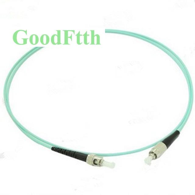Fiber Patch Cord Cable FC ST ST FC Multimode OM3 Simplex GoodFtth 20 100m