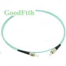 Fiber Patch Cords Cables FC ST ST FC OM3 Simplex GoodFtth 1 15m 6pcs/lot