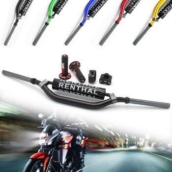 "Manillares de motocicleta de 28mm, manillares anchos de 1 1/8 ""para Honda KTM Yamaha Kawasaki Suzuki CRF YZF WRF RM KXF Dirt Pit Bike ATV quad"