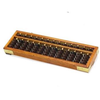 Zupełnie nowa drewniana ramka klasyczny starożytny kalkulator Abacus Soroban plastikowe kulki zabawka rozwijaj dziecięcą matematykę Abacus Intelligence