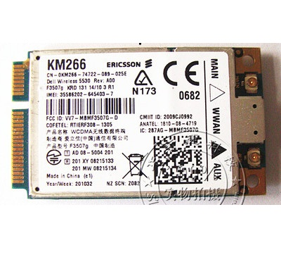 DELL 5530 WWAN CARD DESCARGAR CONTROLADOR
