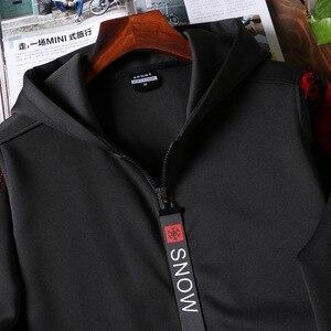 Image 5 - Amberheard Nam Sportsuit Bộ Thời Trang Mùa Xuân Hoodie + Quần Áo Thể Thao Hai Bộ Phù Hợp Với Áo Dành Cho Nam Thể Dục Quần Áo
