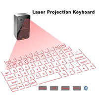 Nuevo teclado láser Virtual inalámbrico Bluetooth portátil Mini teclado de proyección Bluetooth para Windows para teléfonos móviles
