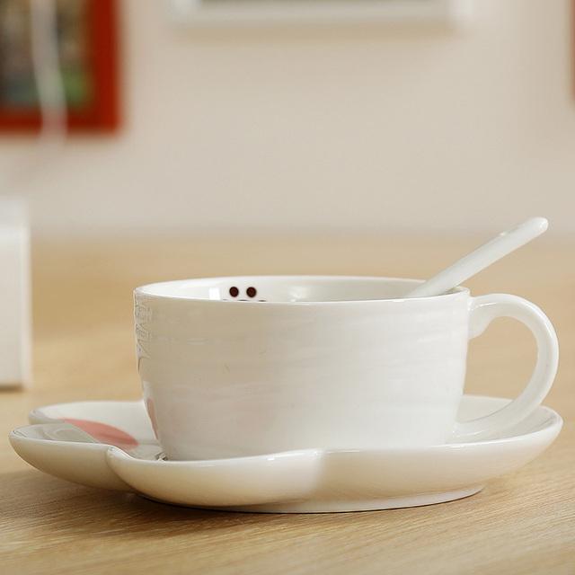 Cartoon Cute Cat Mugs Cup Set