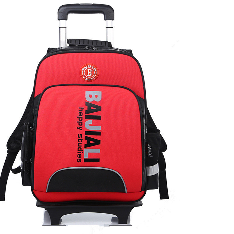 Latest styles Kids Detachable Trolley school Backpack Waterproof Travel Backpack Wheeled Bag Boys Backpack mochila infantil latest styles autumn