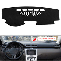 For VW CC With Acoustic Sensor Magotan 2012 2016 Car Dashboard Avoid Light Pad Instrument Platform